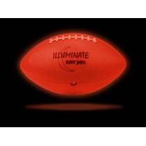 Balón De Americano Con Luz Led. Tamaño Y Peso Oficial Brilla