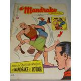 Mandrake Nº 30 De 1958 Comprando Proteção Gibi Raro Rge