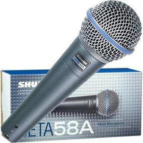 Microfone Profissional Dinâmico Shure Beta58a Sm58 Original