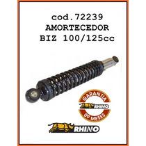 Amortecedor Honda Biz 100cc Rhino 9 Meses De Garantia 72239