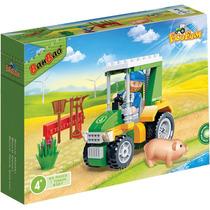 Brinquedo Para Montar Eco Fazenda Trator Vd.88pcs Banbao