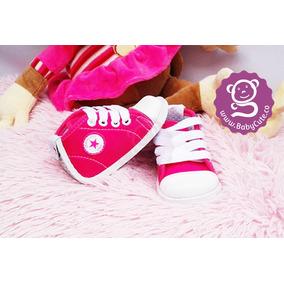 Tenis Fucsia Para Bebé Niña - Zapatos No Tuerce