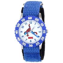 Reloj Maestro Tiempo W Hombre Araña De Acero Inoxidable Mar