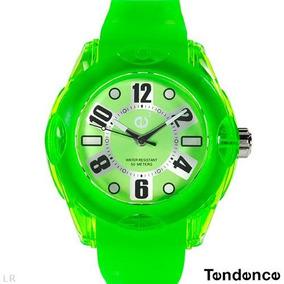 Reloj Tendence E3 Policarbonato Hi-tech, Verde