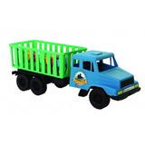 Caminhão Truck Pé De Vento C/ 2 Bois E 2 Cavalos