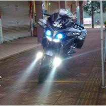 Farol Milha Led Neblina Auxiliar Moto Carro 6000 Lúmens Par