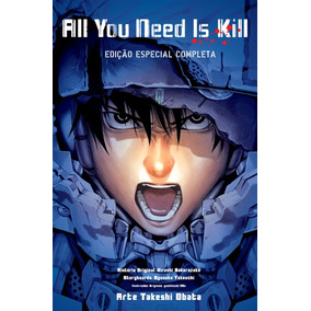 Mangá All You Need Is Kill Edição Única Especial