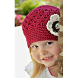 Hermosos Gorros Tejidos A Crochet Para Bebes Y Niñas Aprovec