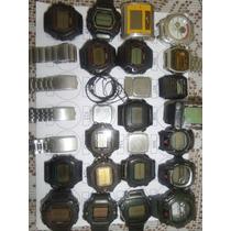 Lote 4 Sucatas Casio E Outros - Máquina Do Tempo