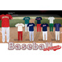 Uniformes Completos Baseball Varios Modelos