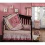 Ajuar, Set Para Cuna Niña Kids Line Modelo Fleur Dormitorio
