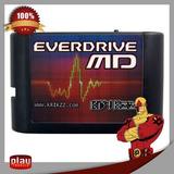 Cartucho Regravável Mega Drive Everdrive Md V3 Krikzz + Case