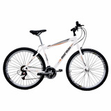 Bicicleta Mountain Bike Mormaii Aro 29 Jaws V-brake Branco