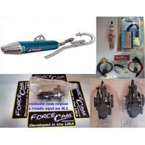 Kit Competição Crf 230 240cc Escape Ims Force Cam Cdi Pwk