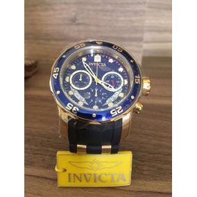 1fe8560205b Relogio W23 Invicta Scuba Pro Diver 6983 Azul Novo 48mm