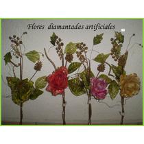 Novedosas Rosas Para Centros De Mesa Navideñas Exx