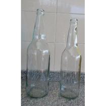 Lote Envases Botellas Cerveza Artesanal Transparentes