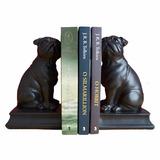 Suporte Aparador De Livros Cachorro Pug