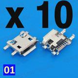 Jack Microusb X 10 Unidades - Modelo 01 / Tablet Celular