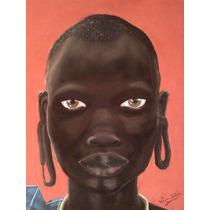 Origen - Dibujo Colores Pastel - Cultura Africana África
