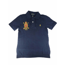 Camiseta Menino Gola Polo Ralph Lauren Original