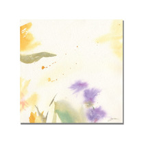 Flowers Abstract Ii Canvas Art By Sheila Golden