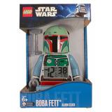 Lego Star Wars - Boba Fett - Reloj Alarma - Nuevo!!