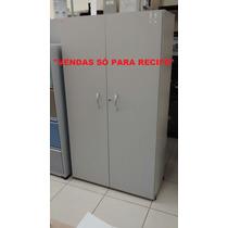 Armário Madeira Alto Cinza (usado) Vendas Só Para Recife