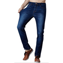 Jean Chupin Elastizado Pantalon Vaquero Hombre Pantalones