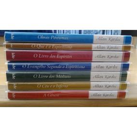 Kit Kardec Completo 7 Livros Doutrina Espírita Frete Grátis