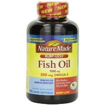 Nature Made Burp-less Aceite De Pescado 1000 Mg 300 Mg Omega