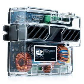 Módulo Amplificador Digital Banda Bd 250.1 Ch 250 Wrms 4 Ohm