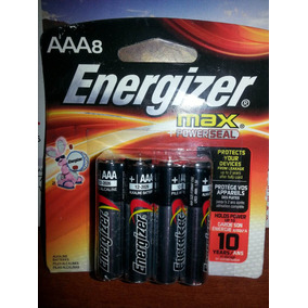 Pilas Aaa Energizer Blister 8 Unidades
