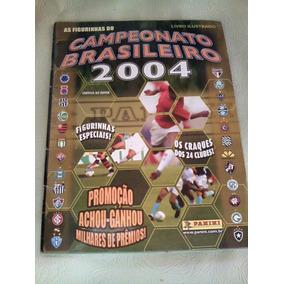 Album De Figurinhas Campeonato Brasileiro 2004