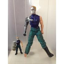 2 Max Stell Set Con Su Mini Figura De Acción Juguetes Muñeco