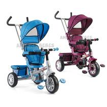 Triciclo Confort Direccional Asiento Giratorio 360º Biemme