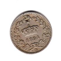 Moneda Italia Reino 20 Centesimi 1894 R Km#28.2 Umberto I