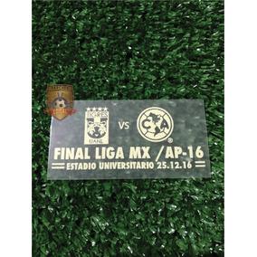 Match Parche Final América Vs Tigres. Partido Vuelta.