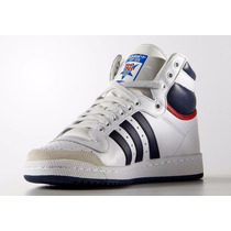 Zapatillas Adidas Top Ten Hi Cuero Originals Importadas