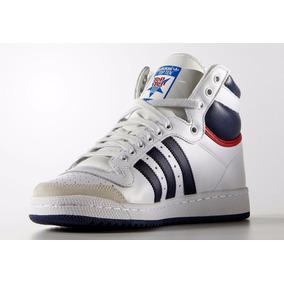 Zapatillas adidas Top Ten Hi Cuero Originals Importadas