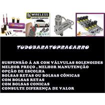 Suspensão Ar Castor Exclusive 8 Válvulas+telescópios