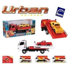 Caminhão Urban Guincho Com Caminhonete - Roma Brinquedos