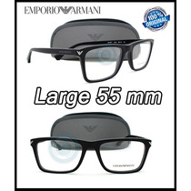 Lentes Emporio Armani Ea3071 Matte Black Armazon Oftalmico