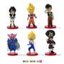 Dragon Ball Z Kai - Figuras X 6! Saga Buu Dwc Vol 1