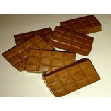 Barras Chocolate Belga Com Amendoim