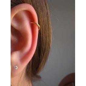 Piercing Cartilagem Orelha E Nariz Argola Ouro 18k 750