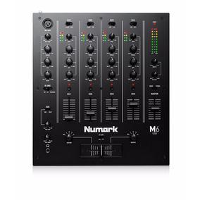 Numark M6 Usb Black Dj Mixer 4 Canales