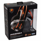 Headset Gamer Cougar Immersa Stereo P/ Consoles,pc E Tablet