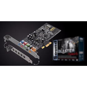 Placa Som Creative Sound Blaster Audigy Fx - Pcie 5.1- O E M