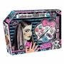 Set De Maquillaje Y Peluca Frankie Stein Monster High